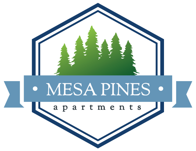 Mesa Pines Apartments Logo